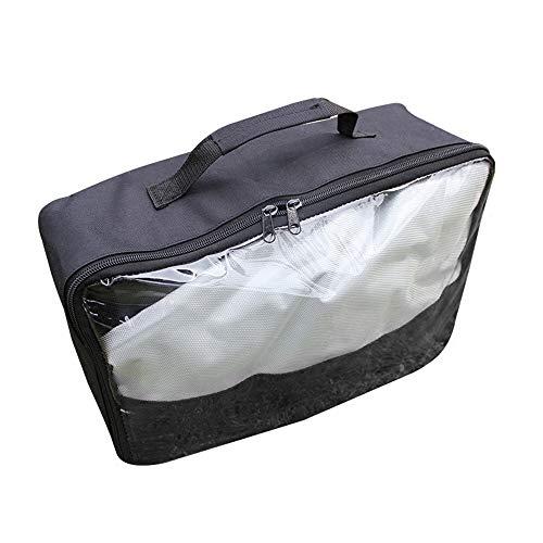 Subobo dakkoffer dakkoffer dak top vrachtwagen draagtas waterdichte auto dakkoffer dakkoffer bagage bagage bagage tas reisdoos voor jeep auto vrachtwagen SUV zwarte auto achter rekken & accessoires