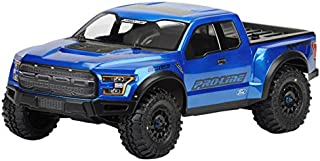 ProLine 1/10 Scale 2017 Ford F-150 Raptor True Scale Clear Body for Short Course Trucks