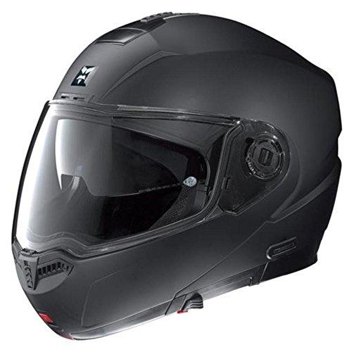 Nolan N104 Evo Outlaw Helm (Flat Black, Large)