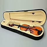 16' Wood Acoustic Viola with Case Rosin Bow Brown Color for Beginner