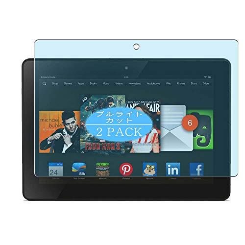 "VacFun 2 Piezas Filtro Luz Azul Protector de Pantalla, compatible con Amazon Kindle Fire HDX 8.9"" new, Screen Protector Película Protectora(Not Cristal Templado) NEW Version"