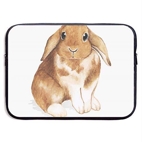 VEGAS Bunny Laptop Sleeve Case Bag Handbag for MacBook - Lightweight Carring Protector for 15 Inch Samsung Sony ASUS Acer Lenovo Dell HP Toshiba Chromebook Computers