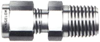 Swagelok SS-200-1-4 Stainless Steel Tube Fitting, Male Connector, 1/8