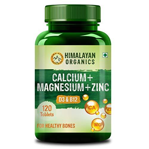 Himalayan Organics Calcium Magnesium Zinc Vitamin D3 &...