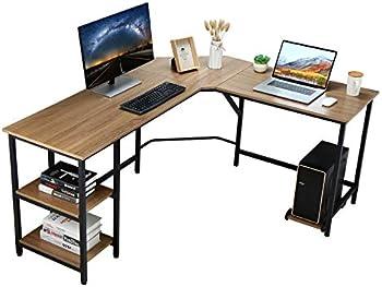 Vanspace 64 Inch Large L-Shaped Computer Desk