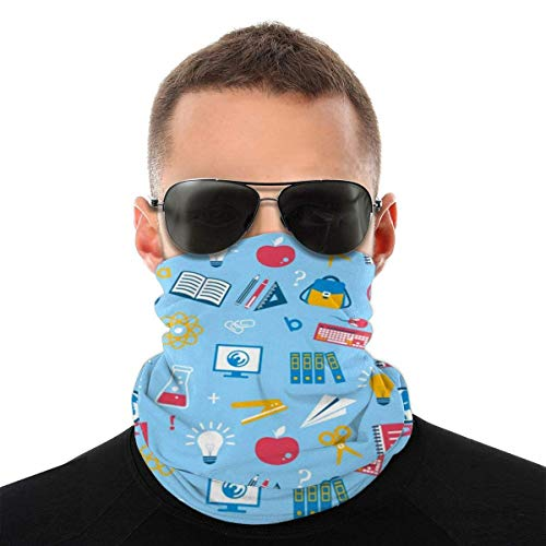 Seamless Bandanas Face Mask, Headcovers Multifunctional Breathable Balaclava Education, Headband Scarf Headwrap Bandana Neck Gaiter Balaclava Breathable For Cycling Fishing Outdoors