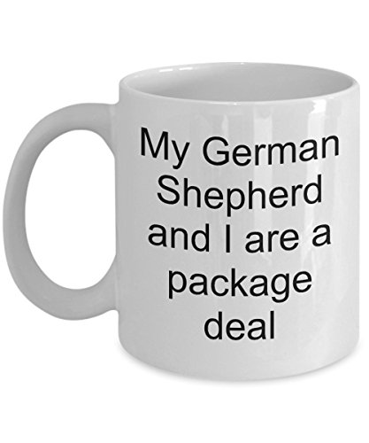 German Shepherd Cup – Fathers Day Ideas for German Shepherd Dad – German Shepherd Mug for K9 Officer or Handler - Funny German Shepherd Stuff for Dog Lovers – German Shepherd Dog Mom Mug