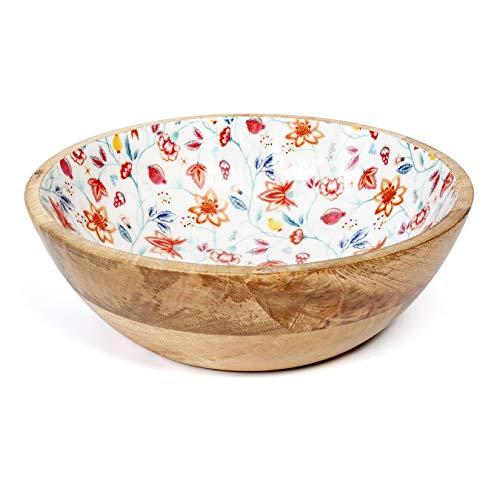 25cm Wooden Salad Bowl or Fruit bowl, Serve salads, Sides and More