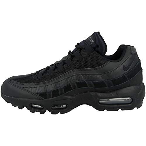 Nike Unisex AIR MAX 95 Essential Laufschuh, Black Black Dk Grey, 42.5 EU