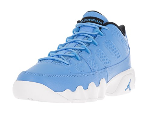white and blue jordans - 4