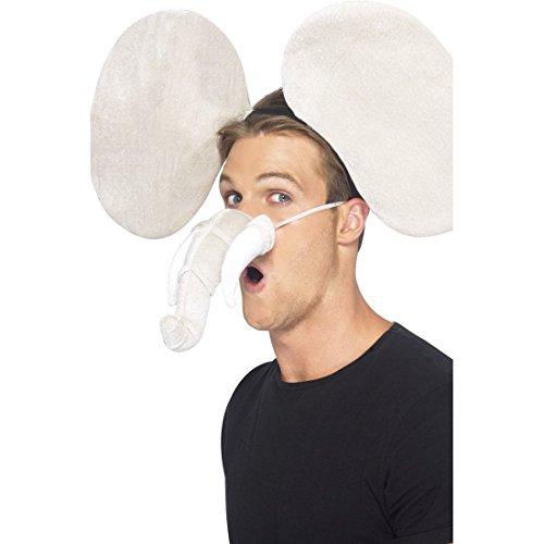 NET TOYS Orejas y trompa de Elefante Disfraz Animales oídos Traje ...