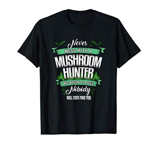 Shirt Regalo de un cazador de hongos y setas Camiseta