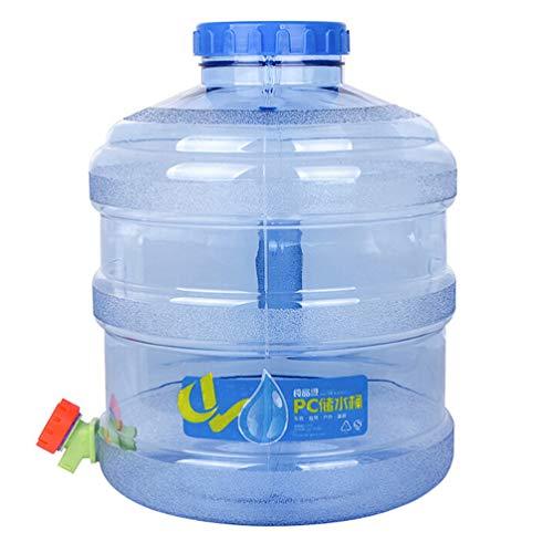 GARNECK Contenedor de Agua Portátil con Contenedor de Almacenamiento de Agua de Espiga para Camping Senderismo Al Aire Libre Mochilero Dispensador de Bebidas