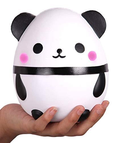 Anboor Squishies Panda Huevo Levantamiento Lento Kawaii Perfumado Suave Animal Squishies Juguetes