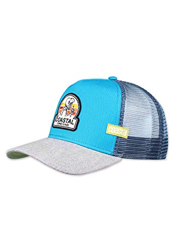 Coastal - Coffee to Ride (Teal) - Trucker Cap Meshcap Kappe Mütze Cappy Caps