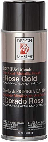 Design Master DM241 Premium Metallic Spray Paint, 11-Ounce, Rose Gold