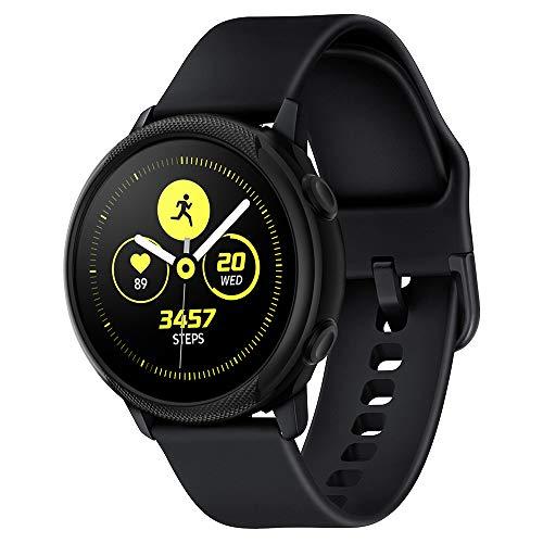 Spigen Liquid Air Armor Compatibile con Samsung Galaxy Watch Active Custodia 40mm (2019) - Nero