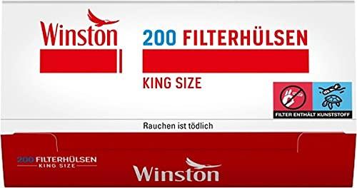1000 (5x200) Winston (Vainas, Manguitos filtro, Tubos de cigarrillos)