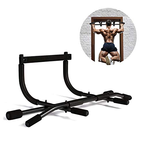 AOAOGYM Pull Up Bar for Doorway, Chin up Bar Doorframe for Home Exercise, No Screws for Home Gym Exercise Equipment, Multifunctional Fitness Bar Exercise Bar Fits Most DoorWays