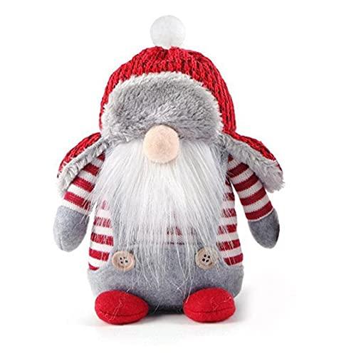 Liadance Día de la Independencia, Sueco gnomo de Santa Felpa, Hecho a Mano escandinava nórdica Elf Enano casero Adornos, Decoración de Navidad de Santa