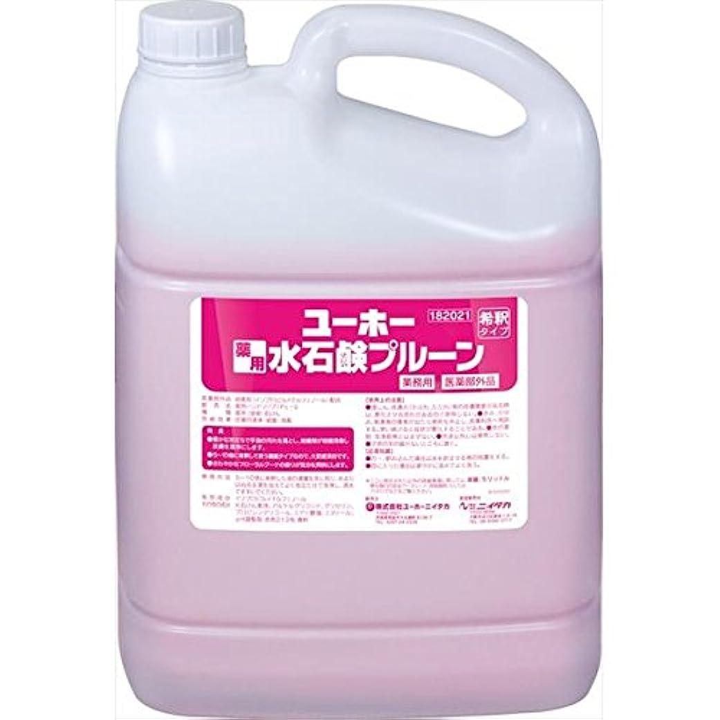 ステージ良心的ちらつきユーホーニイタカ:薬用水石鹸プルーン 5L×2 181021