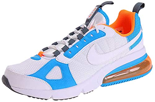Nike Men's Fitness Shoes, Multicolour White White Total Orange Blue Hero 100, US:5