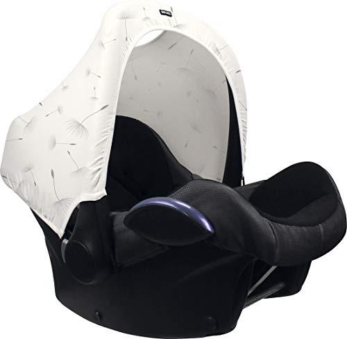 The Original Dooky Universele afdekking voor babyschaal van katoen, beschermt tegen licht, wind, lawaai en regen, paardenbloem, 120 g