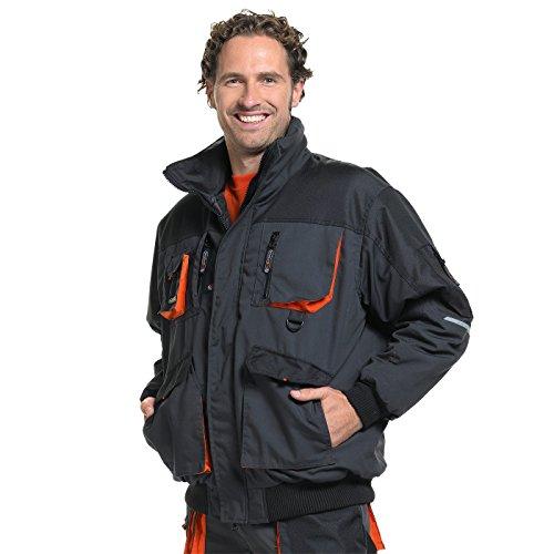 Terratrend Job 4629-s-1064Gr. S Herren Pilot Jacke–Schwarz/Anthrazit