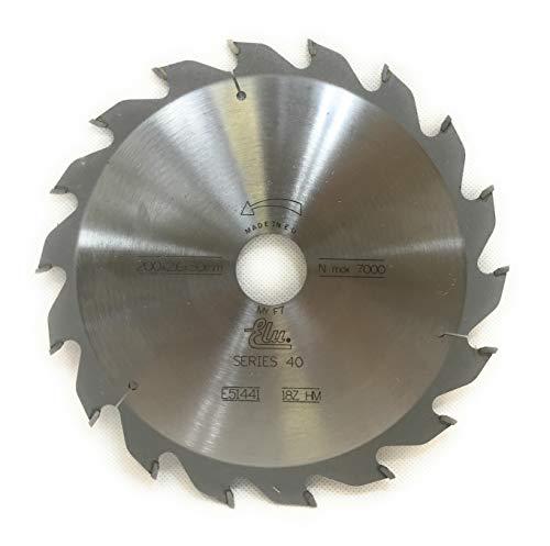 DeWalt DT1441-QZ - Hoja de sierra (200 x 2,6 x 30 mm, 18 HM, POS25°, ATB)