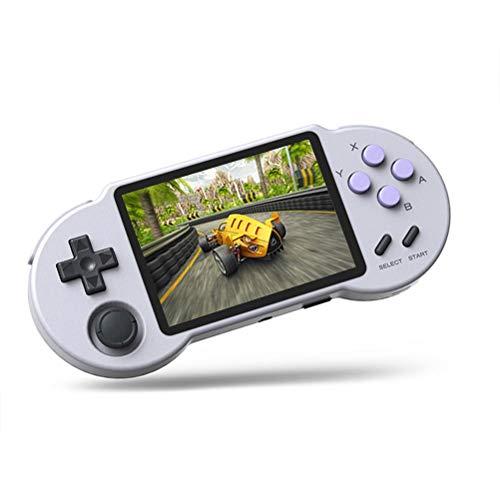 Holmeey Consola de videojuegos portátil de 128 GB, S30 Open Source Retro Arcade Portable Consola de juegos para niños y adultos