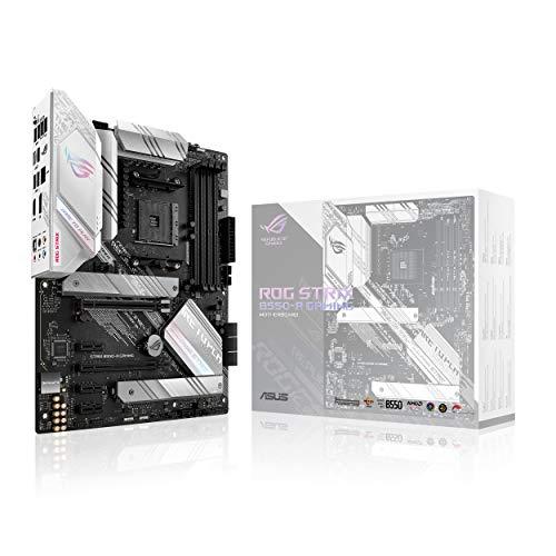ASUS ROG Strix B550-A Gaming AMD AM4 Zen 3 Ryzen 5000 & 3rd Gen Ryzen ATX Gaming Motherboard (PCIe 4.0, 2.5Gb LAN, BIOS Flashback, Dual M.2 with...