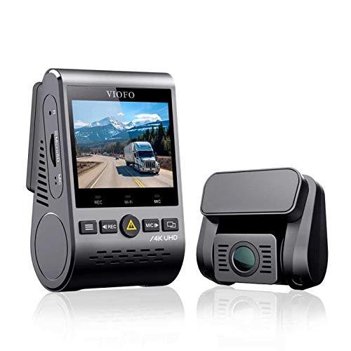 VIOFO A129 Pro Duo 4K Dual Channel Dash Camera with WiFi - No GPS