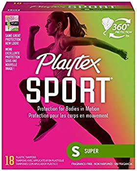 18-Count Playtex Sport Tampons with Flex-Fit Technology