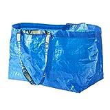 ikea - frakta large bags, maximum load: 25 kg, color: blue (pack of 10)