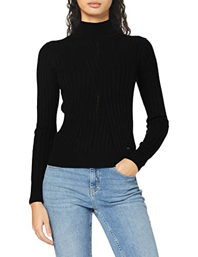 Pepe Jeans Fiona Suéter, Negro (999), X-Small para Mujer