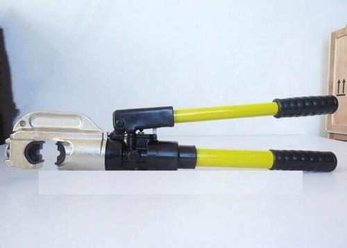 Gowe 16–400 mm² pince à sertir hydraulique hydraulique Outil de compression pour AL/CU conducteur avec 130 KN