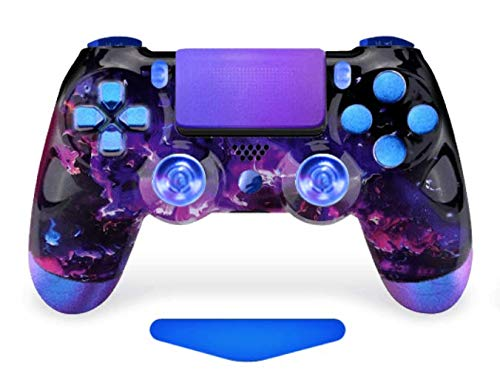 Space Enigma Lava PS4 PRO Rapid Fire Custom Modded Controller 40 Mods for All Major Shooter Games & More, Custom LED (CUH-ZCT2U)