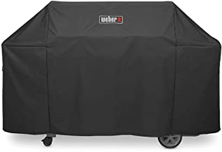Weber Grill Cover 7132 Premium Cover Weber Genesis II Grill Accessory(73 x 44.5 x 25 inches)
