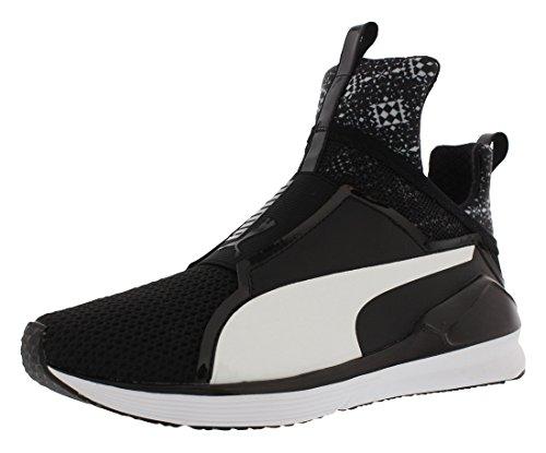 PUMA Fierce Kal Grf Training Womens Shoes Size 6.5, Color Black White