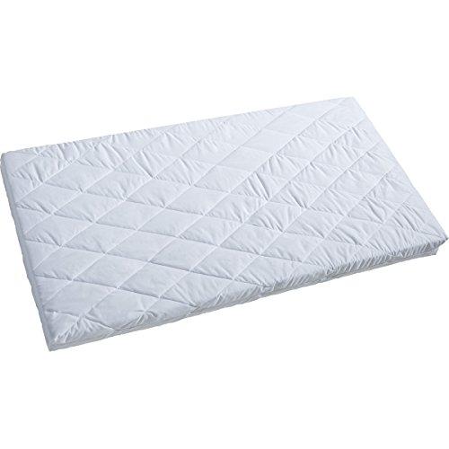 Matratze Classic Ultra Clean 100% Baumwoll Bezug 60 x 120 cm • Babybett Babymatratze Kindermatratze Kinderbett