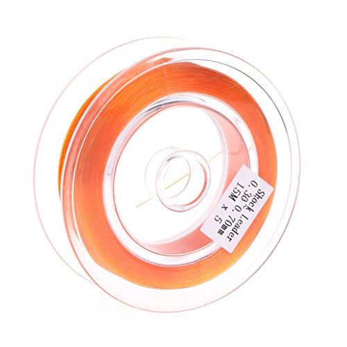 JSMH Mehrzweck-Fliegenschnur für Angeln, geflochten, sinkend, stoßfest, Abriebfest, zum Aufhängen