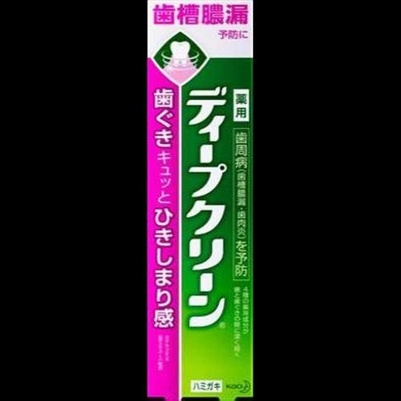 代わって炎上味わう【まとめ買い】ディープクリーン 薬用ハミガキ 100g ×2セット