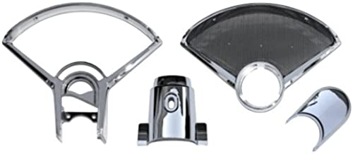 Unfair Advantage 1955 1956 Chevy Auto Instrument Cluster Speedometer Speaker Bezel Dash Set