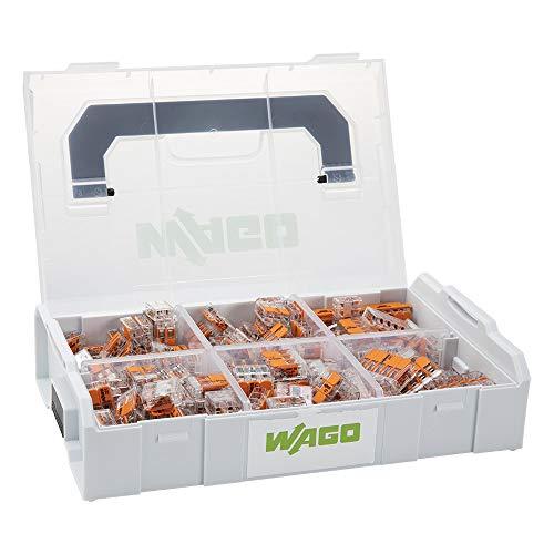 WAGO® Original-Set, L-Boxx Mini, Verbindungsklemmen mit Hebel, Serie 221, 887-957 (236 Teile)