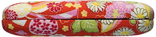 Japanese Style Glasses Case Red