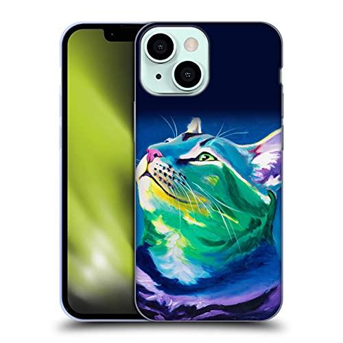Head Case Designs Licenciado Oficialmente DawgArt Mi Pedazo de Cielo Gatos Carcasa de Gel de Silicona Compatible con Apple iPhone 13 Mini