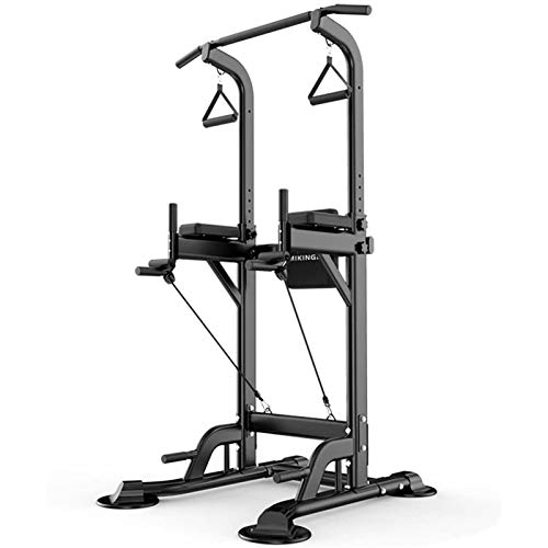 Höhenverstellbarer Squat Rack,Krafttraining Fitness Langhantel,Home Gym Krafttraining Stand Fitness,Squat Stands Rack,Maximale Belastung 200 Kg A
