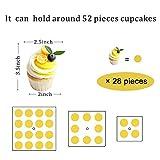 YestBuy 3 Etagen Acryl Cupcake Ständer Tortenständer mit LED-Lichterkette ideal für Hochzeiten Geburtstag (Mehrfarbig) - 6