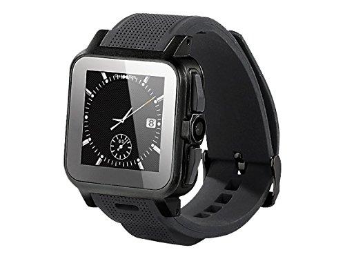 iconBIT Callisto 100 Smartwatch (3,9 cm (1,54 Zoll) IPS Display, 3 Megapixel Kamera, 3G, GPS, Android 4.2.2)