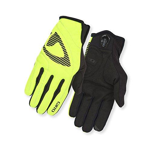 Giro Unisex– Erwachsene Wi Blaze Fahrradhandschuhe, Highlight Yellow/Black, XL